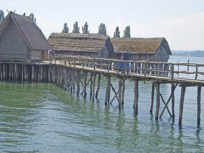 Pile dwellings Lake Constance